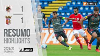 Liga Portugal bwin (7ªJ): Resumo Santa Clara 1-1 SC Braga