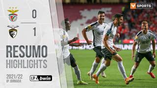 Liga Portugal bwin (8ªJ): Resumo SL Benfica 0-1 Portimonense