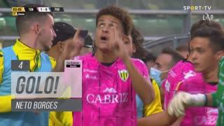 GOLO! CD Tondela, Neto Borges aos 4', CD Tondela 1-0 FC Porto