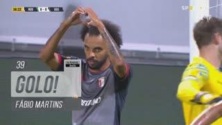 GOLO! SC Braga, Fábio Martins aos 39', Moreirense FC 0-1 SC Braga