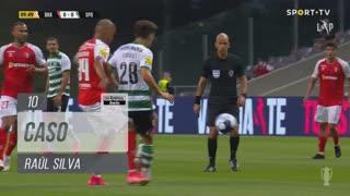 SC Braga, Caso, Raúl Silva aos 10'