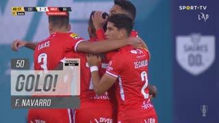 GOLO! Gil Vicente FC, F. Navarro aos 50', Estoril Praia 2-2 Gil Vicente FC