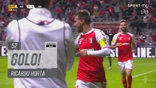 GOLO! SC Braga, Ricardo Horta aos 52', SC Braga 2-1 Boavista FC