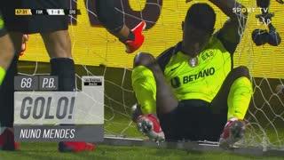 GOLO! FC Famalicão, Nuno Mendes (p.b.) aos 68', FC Famalicão 1-0 Sporting CP