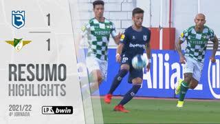 Liga Portugal bwin (4ªJ): Resumo Belenenses SAD 1-1 Moreirense FC