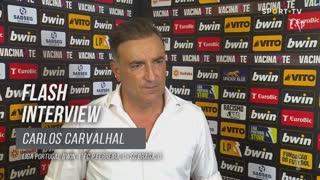 Carlos Carvalhal lamentou falta de eficácia