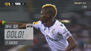 GOLO! Vitória SC, F. Sacko aos 90'+5', Vitória SC 4-0 FC Vizela