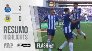 I Liga (4ªJ): Resumo Flash FC Porto 3-0 FC Arouca