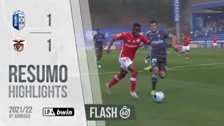 Liga Portugal bwin (8ªJ): Resumo Flash FC Vizela 1-1 Santa Clara