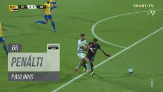 Sporting CP, Penálti, Paulinho aos 65'