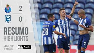 Liga Portugal bwin (1ªJ): Resumo FC Porto 2-0 Belenenses SAD