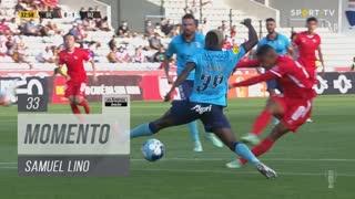 Gil Vicente FC, Jogada, Samuel Lino aos 33'