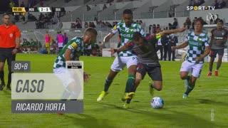 SC Braga, Caso, Ricardo Horta aos 90'+8'