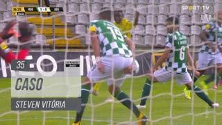 Moreirense FC, Caso, Steven Vitória aos 35'