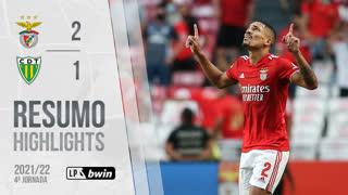 Liga Portugal bwin (4ªJ): Resumo SL Benfica 2-1 CD Tondela