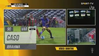 Moreirense FC, Caso, Ibrahima aos 90'