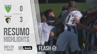 I Liga (3ªJ): Resumo Flash CD Tondela 0-3 Portimonense