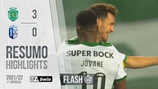 I Liga (1ªJ): Resumo Flash Sporting CP 3-0 FC Vizela