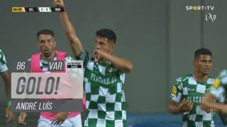 GOLO! Moreirense FC, André Luís aos 86', Belenenses SAD 1-1 Moreirense FC
