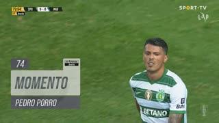 Sporting CP, Jogada, Pedro Porro aos 74'