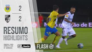 Liga Portugal bwin (6ªJ): Resumo Flash FC Arouca 2-2 Vitória SC