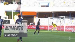 Gil Vicente FC, Jogada, F. Navarro aos 3'