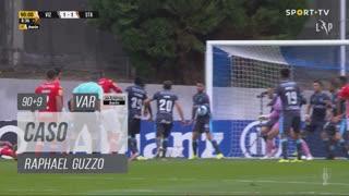 FC Vizela, Caso, Raphael Guzzo aos 90'+9'