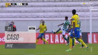 FC Arouca, Caso, Pité aos 21'