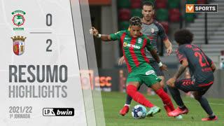 Liga Portugal bwin (1ªJ): Resumo Marítimo M. 0-2 SC Braga