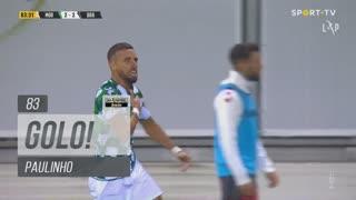 GOLO! Moreirense FC, Paulinho aos 83', Moreirense FC 2-2 SC Braga