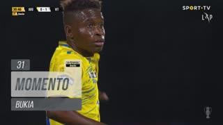FC Arouca, Jogada, Bukia aos 31'