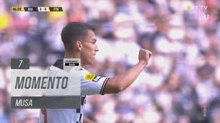 Boavista FC, Jogada, Musa aos 7'