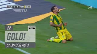 GOLO! CD Tondela, Salvador Agra aos 22', SL Benfica 0-1 CD Tondela