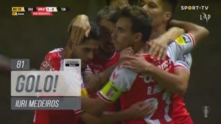 GOLO! SC Braga, Iuri Medeiros aos 81', SC Braga 1-0 CD Tondela