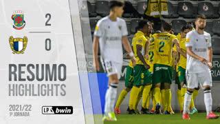 Liga Portugal bwin (1ªJ): Resumo FC P.Ferreira 2-0 FC Famalicão