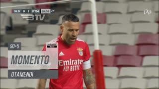 SL Benfica, Jogada, Otamendi aos 90'+5'
