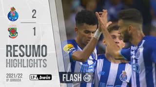 Liga Portugal bwin (8ªJ): Resumo Flash FC Porto 2-1 FC P.Ferreira