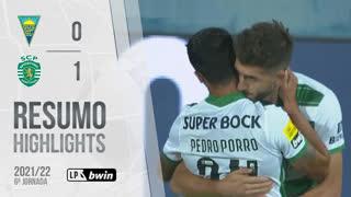 Liga Portugal bwin (6ªJ): Resumo Estoril Praia 0-1 Sporting CP