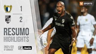 Liga Portugal bwin (8ªJ): Resumo FC Famalicão 1-2 Vitória SC