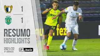 I Liga (4ªJ): Resumo FC Famalicão 1-1 Sporting CP