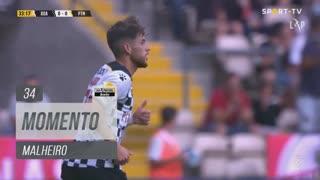 Boavista FC, Jogada, Malheiro aos 34'