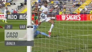 FC Famalicão, Caso, Banza aos 28'