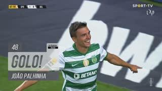 GOLO! Sporting CP, João Palhinha aos 48', Sporting CP 2-0 Belenenses SAD