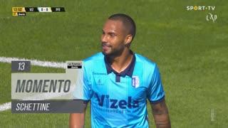 FC Vizela, Jogada, Schettine aos 13'