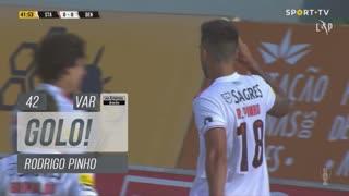 GOLO! SL Benfica, Rodrigo Pinho aos 42', Santa Clara 0-1 SL Benfica