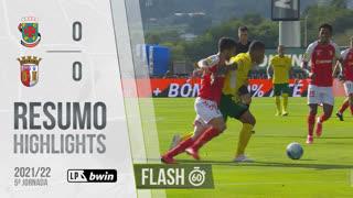 Liga Portugal bwin (5ªJ): Resumo Flash FC P.Ferreira 0-0 SC Braga