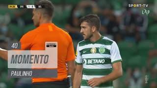 Sporting CP, Jogada, Paulinho aos 40'