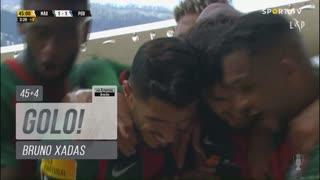 GOLO! Marítimo M., Bruno Xadas aos 45'+4', Marítimo M. 1-1 FC Porto
