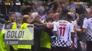 GOLO! Boavista FC, G. Sauer aos 47', Boavista FC 2-0 Santa Clara