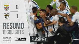 Liga Portugal bwin (8ªJ): Resumo Flash SL Benfica 0-1 Portimonense